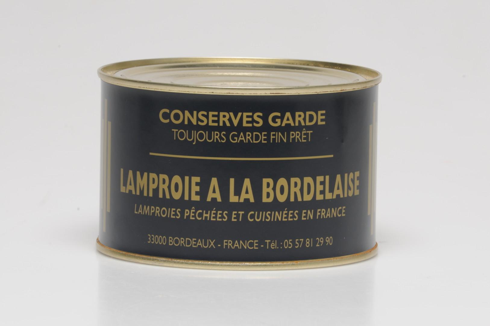 acheter la Lamproie à la Bordelaise