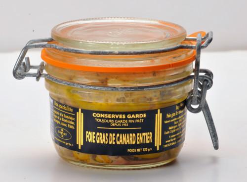 vente de foie gras de Canard entier