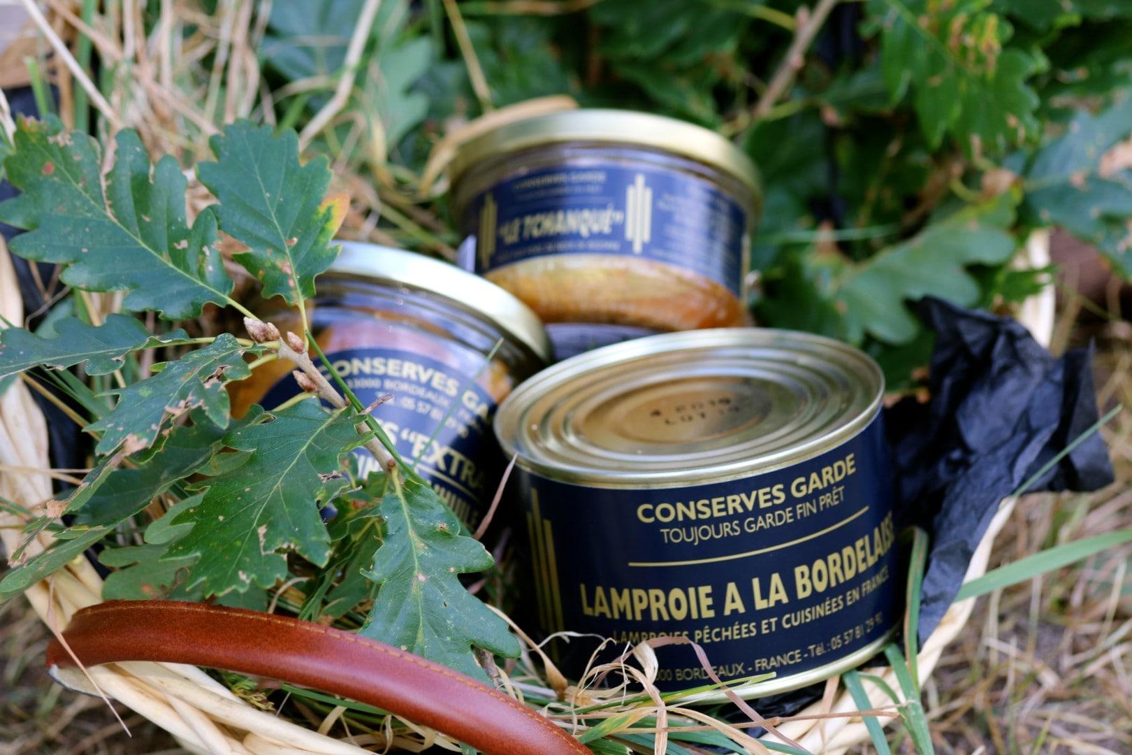 vente de Lamproie à la bordelaise